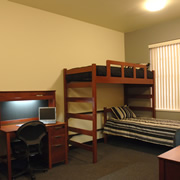 Western Residence Hall - Bedroom