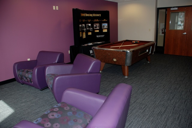 Residence Hall Game Room